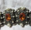 Ornate Costume Vintage Large Bracelet