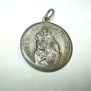 St Anne De Beaupre & St Christopher Medal