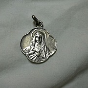 French Mary Immaculate Heart Medal
