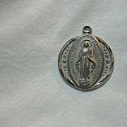 Sterling Silver Virgin Mary Miraculous Medal
