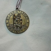 St Christopher Large Medal