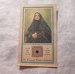 St Frances Xavier Cabrini Paper Reliquary