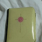 Celluloid True Miniature Book Of Common Prayer 1898