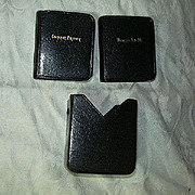Antique Miniature Set Book Of Common Prayer & Hymns A&M In Case