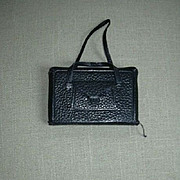 Black Leather Antique Book Of Common Prayer With Straps & Pocket