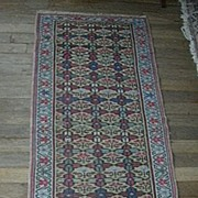 Antique Malayer Persian Small Rug Runner Fine Carpet