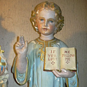 Church Size DaPrato Child Jesus Statue