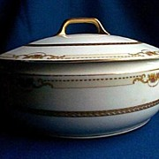 EPIAG Covered Serving Bowl Czechoslovakia