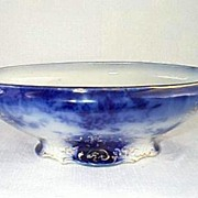Flow Blue La Belle Serving Dish 1890's