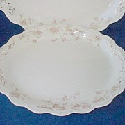 Johnson Brothers Baroda Oval Platter Large 12""