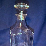 Lead Crystal Decanter Golf Invitational 1988 Short