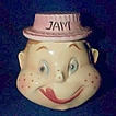 American Bisque  Freckled Face Jam Condiment Jar