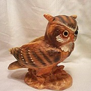 Lefton Owl  Planter Vase
