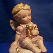 Tender Heart Angel Figurine Porcelain
