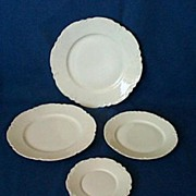 Haviland Limoges Ranson Plates Set of 4