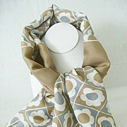 Versatile Neck Scarf With Subdued Colors