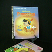 Classic Golden Books - Pinocchio & Nursery Rhymes