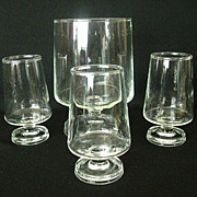 Collection Crystal Mixed Drink Glasses