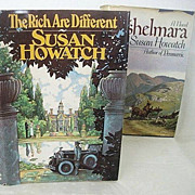 SALE Two Great Susan Howatch Novels: Cashelmara & The Rich are Different