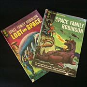Two Issues Space Family Robinson - 1960's