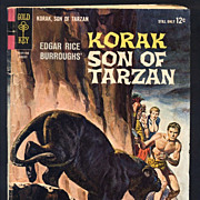 Korak Son of Tarzan - 1964 Gold Key Comic Book