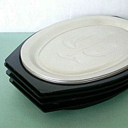 Set Vintage Nordic Ware Steak Platters