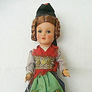 SALE Bavarian Jointed Gura Doll With Original Tag