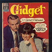 SALE Gidget Comic Book  First Issue -  No. 1 April 1966