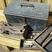 SALE Automobile Tool Box Believed 1930's