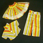 Cute Brightly Colored Cotton 3-Piece Play Outfit