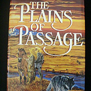 SALE Jean Auel:  Plains of Passage 1st Edition  - 1990