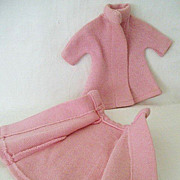 Matching Pink Coats For Twin Dolls