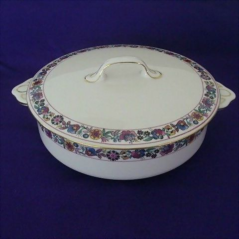 Johnson Brothers Bagatelle Round Covered Vegetable Server