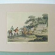 SALE Sam Howitt Fox Hunt Prints First Published in 1807