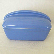 Delphinium Blue Hall Covered Baking Dish
