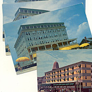 Postcard Collection Mid-Century Ocean City Hotels