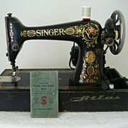 SALE Singer Red Eye 1915 Portable Class 66 With Manual