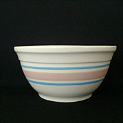 SALE Familiar Striped Mixing Bowl #8 With McCoy Logo
