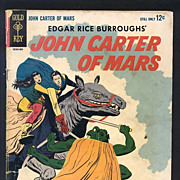 John Carter of Mars Comic 1964 No. 1