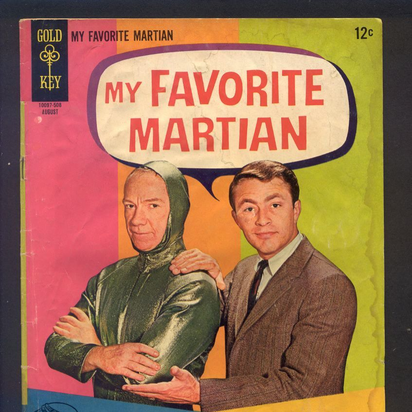 My Favorite Martian Comic Book 1965 No. 5