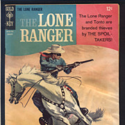 The Lone Ranger Comic Book 1967 No. 5