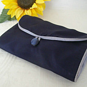 Ladies Navy Blue Bag For Her Nylons