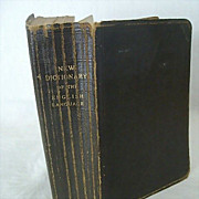 Collier�s New Dictionary of the English Language 1925