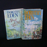 Pair Dorothy Eden Novels 1970's