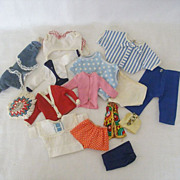 Doll Clothes 1950's Collection XS to XL