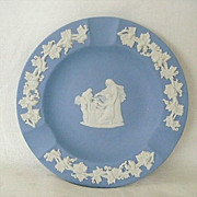 Wedgewood Jasperware Ashtray Blue And White