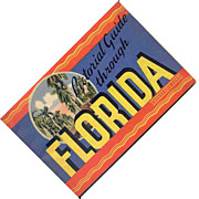 SALE 1946 Pictorial Guide Through Florida