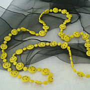Smiley Faces Necklace Might Keep Someone Smiling