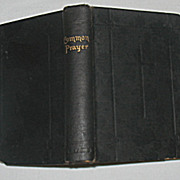 "SALE ""The Book of Common Prayer"" Pocket Size Circa 1898"
