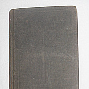 SALE �The Book of Common Prayer� Antique Religious Prayer Book c.1892 / Trinity Church Renssel